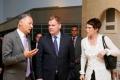 وزير الخارجية الكندي جون بيرد يزور مدينة روابي