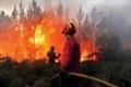 حرائق الغابات في البرتغال تقتل رجلا وتدمر عددا من المباني
