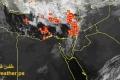 العواصف الرعدية تضرب فلسطين بكل عنفوانها