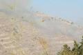 اندلاع حريق ضخم في جبال القدس