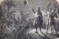 """لولا """"القمر الدموي العملاق"""" لما نشأت الأمريكيتان ولما ارتكبت المجازر.. تعرف كيف خدع كولومبوس سكان ..."""