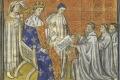 من هو الملك الذي حصل على عرش فرنسا وهو في بطن أمه؟