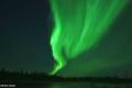 بالفيديو.. السماء تتلألأ بأمواج خضراء