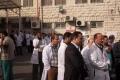 إعتصام في مستشفى رفيديا ضد قرار نقل مديره