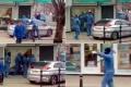 بالفيديو.. سطو مسلح بالفؤوس على محل مجوهرات في وضح النهار
