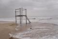 غرق وتضرر منازل ودفيئات زراعية بقطاع غزة بسبب الرياح والامطار الغزيرة