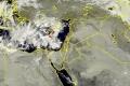 """الأقمار الصناعية ظهر اليوم ترصد غيوم """"عمورية"""" في حوض شرق المتوسط"""