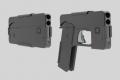 بالصور والفيديو: مسدس على شكل آيفون!