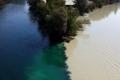 بالصور ظاهرة البرزخ عند التقاء الماء المالح والعذب