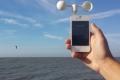 قياس سرعة الرياح بالهواتف الذكية