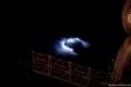 """رائد فضاء يصور يصور ظاهرة """"العفريت الكهربائي""""!"""