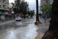 أمطار أيارية نادرة في غزة