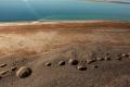 العثور على آثار لكارثة بيئية من صنع بشري في قاع البحر الميت