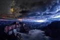 السماء المقلوبة: ظاهرة طبيعية نادرة للغاية بأخدود جراند كانيون!
