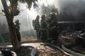 تضحية رائعة .. وفاة مواطنة بعد إنقاذها اطفالها من حريق شب في منزلهم اليوم