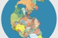 هكذا ستكون حدود الدول السياسية على القارة الام بانجيا قبل 200 مليون عام !