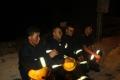 بالصور..حريق هائل في إحدى بنايات رام الله وكارثة كبرى كانت قاب قوسين