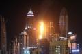 للمرة الثانية في أقل من يومين.. حريقٌ ببرجٍ سكني في دبي