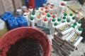ضبط مصنع منشطات جنسية وكريمات للبشرة معسل داخل منزل في نابلس