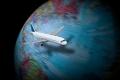 لماذا تسلك الطائرات مسارًا منحني عند التحليق في الجو وليس مستقيمًا؟