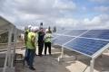 ألواح شمسية تجمع الإشعاع وتبثه ثقافة بيئية ومدخولاً مادياً لتطوير ثلاثين مدرسة في الضفة الغربية
