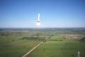 هل سبق وشاهدتم صاروخا يقلع ويتوقف في الهواء ويرجع إلى مكانه!