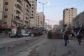 شلل على طريق رام الله - القدس نتيجة المتاريس والإطارات المشتعلة