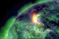 الكشف عن فيديو مذهل لإعصار أعقب الإنفجارات الشمسية الأخيرة وحجمه يعادل 5 كرات أرضية .. ...