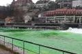 النهر الأخضر.. أغرب طرق الاحتجاج في سويسرا