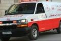 بالصور... سقوط ثلاثة رجال أمن في إصطدام سيارة بعمود للضغط العالي شمال الضفة