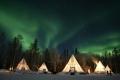 تفضل وشاهد الصور الخيالية لفجر أقصر نهار في القطب الشمالي
