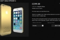 """عبر شركة مجوهرات بريطانية """"آي فون 6"""" مطلي بالذهب مقابل 3872 دولاراً"""