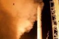مشهد طريف لضفدع يظهر في صورة أثناء إطلاق صاروخ باليستي