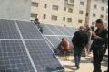 وأخيراً أنظمة الطاقة الشمسية النظيفة تدخل البيوت الفلسطينية