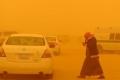 موجات الغبار تجتاح معظم أرجاء المشرق العربي والإقامة الجبرية مفروضة في دول الخليج