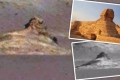 العثور على هيكل يشبه أبو الهول في صورة للمريخ