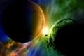 كوكب عملاق يتعرض للطرد من المجموعة الشمسية