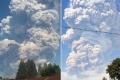 بالفيديو.. شاهد اللحظات الأولى لثوران بركان سينابونغ الذي ثار من جديد ..