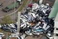 """إعصار اليابان يوقد النيران.. وفيديو يرصد """"التهام السيارات"""""""