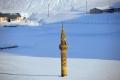 ما سرّ المئذنة المحاطة بالثلوج في تركيا!؟