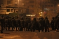 حادث دهس متعمد لرجال الأمن وإطلاق نار كثيف وتوتر أمني وسط مدينة نابلس