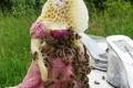 بالصور: مجسمات عجيبة ومميزة من إبداع النحل
