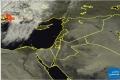 المنخفض الجوي يقترب من حوض شرق المتوسط | 17/10/2013