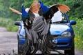 طيور الطاؤوس تغزو قرية بريطانية
