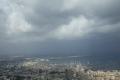"""أمطار """"فيضانية"""" هطلت على حيفا خلال ساعتين أدت الى إغلاق بعض الطرق"""