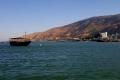 """مستوى المياه في بحيرة """"طبريا"""" يقترب من الخط الأسود"""