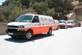 اصابة طالب بحادث سير جنوب نابلس