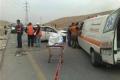 بالصور: حادث سير بين موكب رئيس الوزراء وسيارة مستوطن قرب بيت لحم