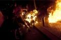 شاب يضرم النار في نفسه أمام وزارة المالية برام الله