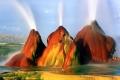 بالصور: نبع ماء حار بتدرجات لونية مذهلة أقرب إلى الخيال في صحراء نيفادا الأمريكية